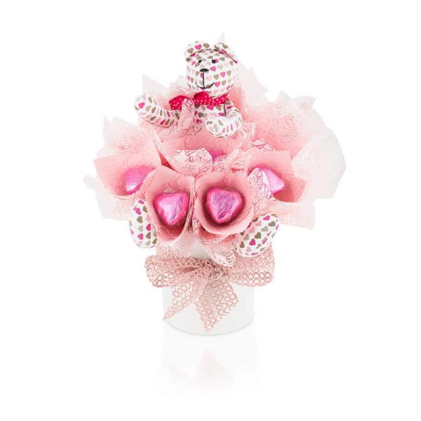 słodki bukiet kwiaciarnia internetiwa Forget Flowers 6